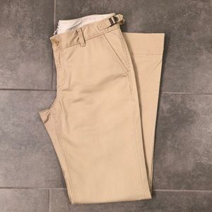 BR cotton bootcut chinos